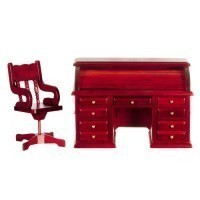 (*) Dollhouse Roll-top Desk Set - Product Image