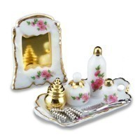 (*) Dollhouse Vanity Set - Product Image