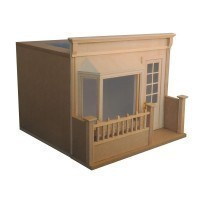French Cafe Dollhouse Kit - Product Image