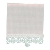 Dollhouse Checked Window Shade - Product Image