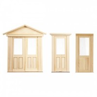 Federal Flat 2 Panel / Glass Door(s) - Product Image