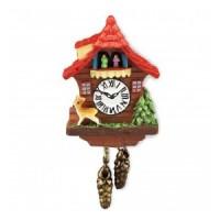 Dollhouse Hunter Cuckoo Clock - Product Image