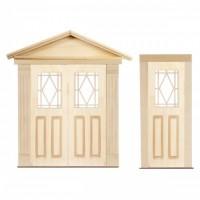 Dollhouse Diamond Top Door(s) - Product Image
