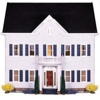 Montclair Estate Dollhouse Kit (Milled) - Product Image