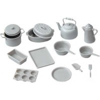 Chrysnbon® Gray 14 pc Cookware (Kit) - Product Image