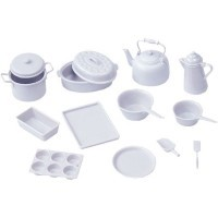 Chrysnbon® White 14 pc Cookware (Kit) - Product Image