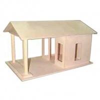 Dollhouse Gas Station (Kit) - Product Image