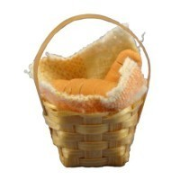 Dollhouse Basket of Sliced Bread - Product Image