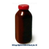 (§) Sale .30¢ Off - Dollhouse Milk Bottle - Quart - Product Image