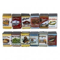 (§) Sale $1.50 Off - Country Store Food Cans - Product Image