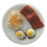Dollhouse Bacon & Fried Egg Breakfast - Product Image