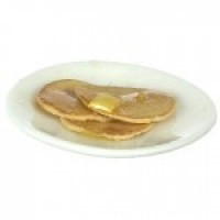 Dollhouse Pancake Breakfast Plater - Product Image
