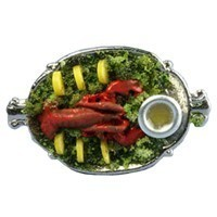 Dollhouse Lobster Dinner - Product Image