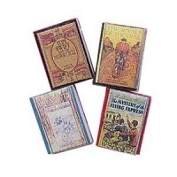 Dollhouse Children's Antique Styled Book Sets - Product Image