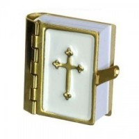 Dollhouse White Opening Bible - Product Image