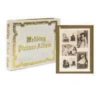 (§) Sale .40¢ Off - Wedding Album & Pictures - Product Image