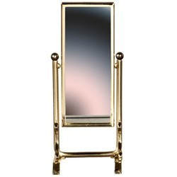 § Disc $1 Off - Dollhouse Brass Rectangular Dressing Mirror - Product Image