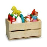 Dollhouse Crate of Toys - Product Image