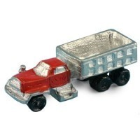 Dollhouse Toy Dirt Hauling Truck - Product Image