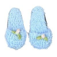 Dollhouse Lady's Rose Slippers - Product Image