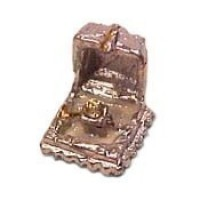 (*) Dollhouse Miniature Ring Box - Product Image