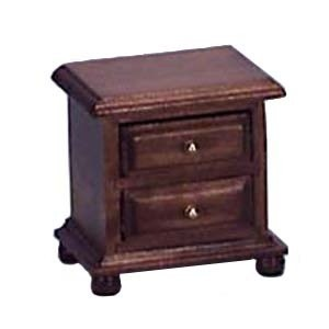 (§) Disc $1 Off - Dollhouse Walnut Night Stand - Product Image