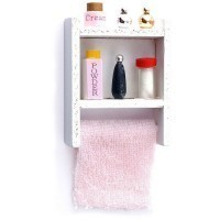 Small Filled Bathroom Shelf (Assorted) - Product Image