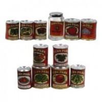§ Sale $1.50 Off - Fern Park Vintage Food Can (Kit) - Product Image