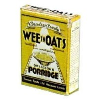 § Disc .30¢ Off - Dollhouse Vintage Wee Oats Porridge Box - Product Image