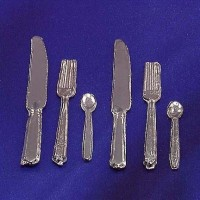 § Disc .60¢ Off - 6 pc Silverware - Product Image