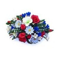 § Disc. $3 Off - Dollhouse Floral Centerpiece - Product Image