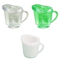 (§) Sale - Dollhouse Acrylic Measuring Cup - Product Image