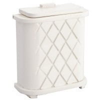 § Sale $2.00 Off - White Wooden Hamper - Product Image