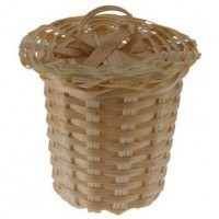 § Sale .60¢ Off - Wicker Laundry Hamper - Product Image