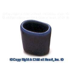 § Disc .60¢ Off - Dollhouse Ceramic Waste Basket - Product Image