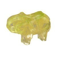 (*Reduced) Dollhouse Elephant Statue - Product Image