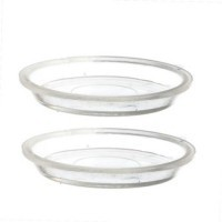 § Sale $1 Off - 2 pc. Acrylic Pie Pans - Product Image