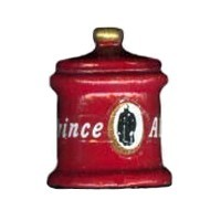 § Sale .40¢ Off - Dollhouse Tobacco Can - Product Image