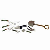 Dollhouse 7 pc Garden Hand Tools - Product Image
