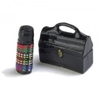 (§) Sale .40¢ Off - Dollhouse Lunch Bucket & Thermos - Product Image