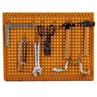 Dollhouse Pegboard with Tools - Product Image