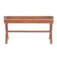 Dollhouse Hitchcock Coffee Table in Walnut - Product Image