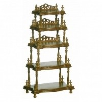 Sale $10 Off - Lincoln Dollhouse 5-Shelf Etagere - Product Image