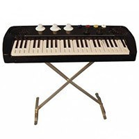 SALE $2 Off - Dollhouse Keyboard on Stand - Product Image