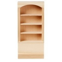 Dollhouse Unfinished Bookcase - Product Image