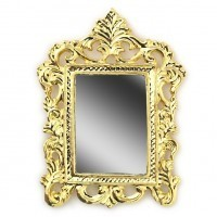 Dollhouse Square Victorian Mirror - Product Image