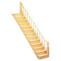 Dollhouse Fancy Staircase - Product Image