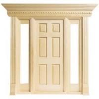 Jamestown Door with Sidelights - Product Image