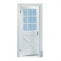 Colonial Crossbuck Door with Mullins ( Kit ) - Product Image
