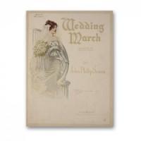 Dollhouse Printed Wedding Music - Product Image